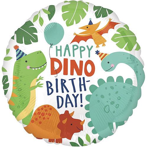 Круг НВ Вечеринка динозавров
