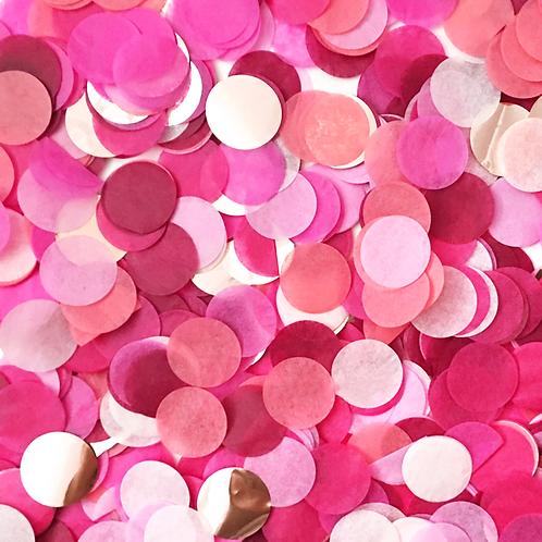 Burgundy pink mix