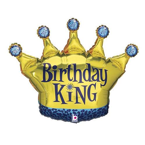 Шар Birthday King с гелием