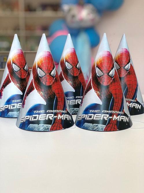 Колпачки Spiderman, 6шт