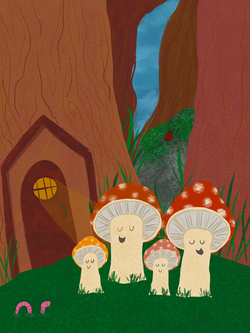Mushroom Family, 2020