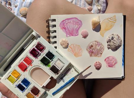 Beach Watercolors