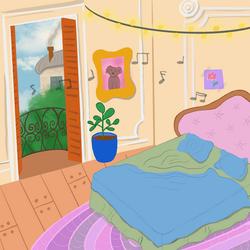 Parisian Bedroom, 2020
