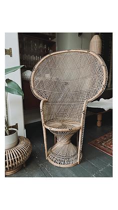 Large Vintage Peacock chair