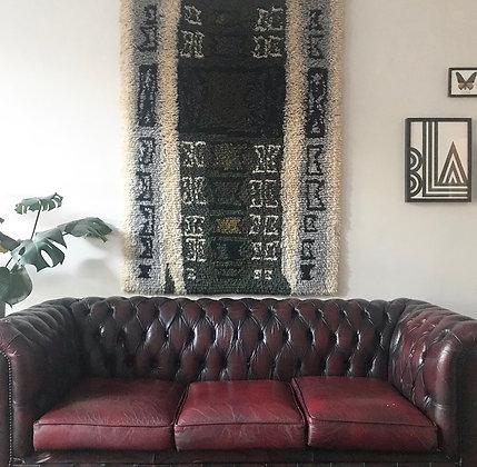 SUNDIAL Ryijy wall rug
