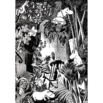 Moomin print Jungle