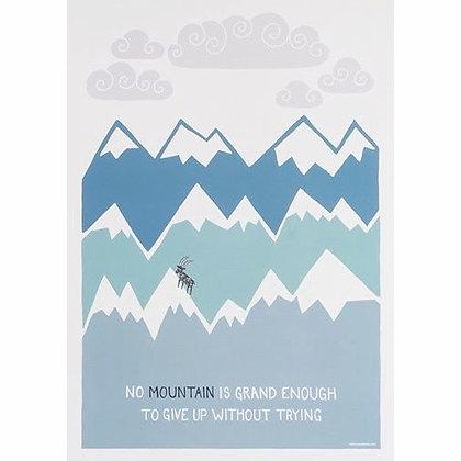 Himalaya poster by Muumuru