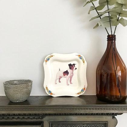 Vintage Innes Wale dog plate
