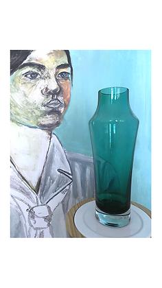 Riihimäki glass vase 1375