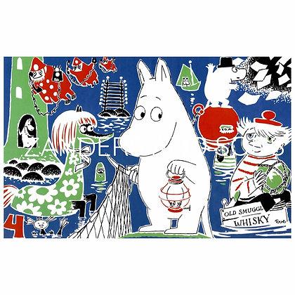Moomin print No 4