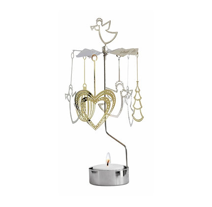 XL angel candle holder