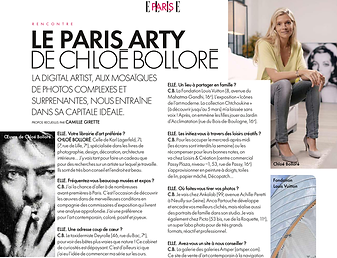 Article presse ELLE france Chloé
