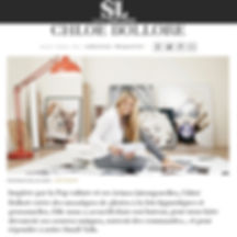 Article presse Les échos série limitée Chloé