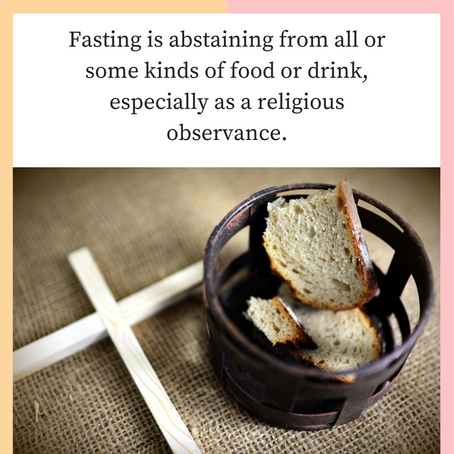 Second Chances -Fasting