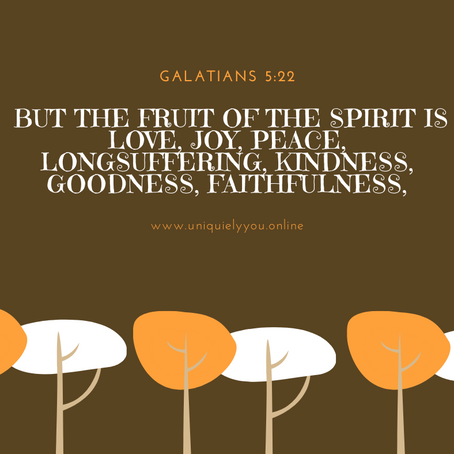 Title: Esther – The Fruit of the Spirit