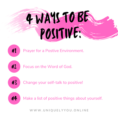 Four Ways to Be Positive