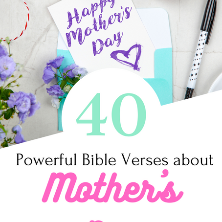 40 Bible Verses