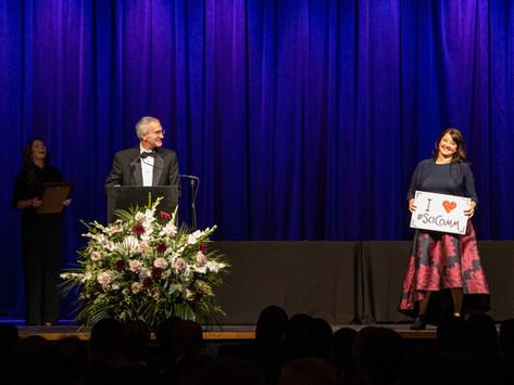 Dr. Colleen Iversen named Oak Ridge National Laboratory's top Science Communicator of 2019