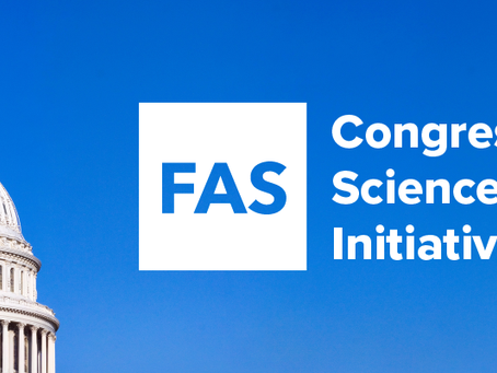 Federation of American Scientists begins Congressional Science Policy Initiative
