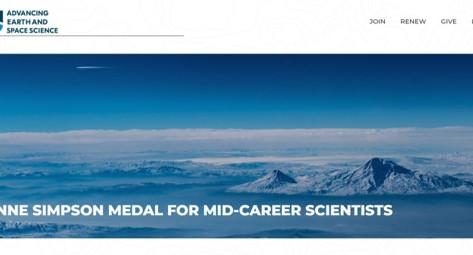 Berhe awarded the AGU's Joanne Simpson Medal for Mid-Career Scientists