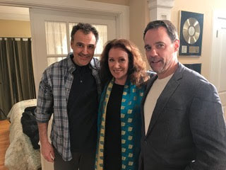 "Sal, Kathy and Patrick Davin (aka ""Hank"")"