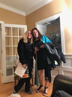 Rachel and Kathy