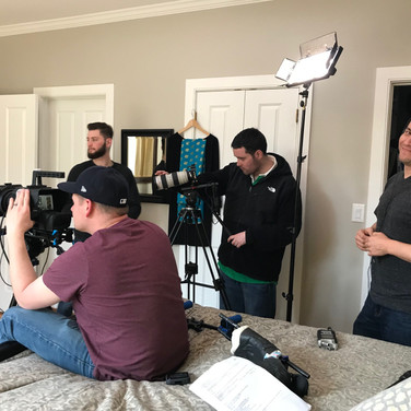 Film Haven crew featuring Michael Finnegan as DP, David Trapasso, Albert Silva and Conner Etter