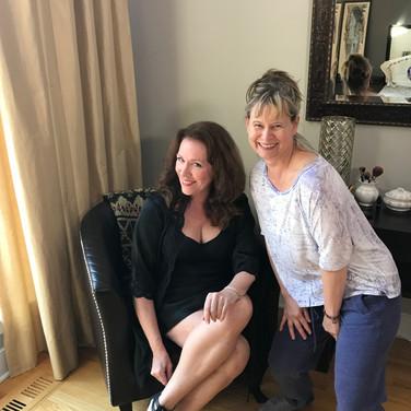 Kathryn Neville Browne (aka Lola) and Lori Lowe