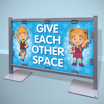 'Give Each Other Space'