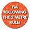 Thumbnail: 40mm Dia Reward Sticker 'Following the 2 Metre Rule'