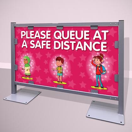 'Queue Safely'