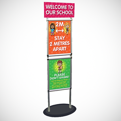 Welcome Stand