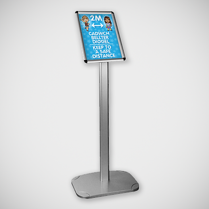 Bilingual A4 Snap Frame Stand