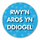Thumbnail: 40mm Dia Welsh Reward Sticker 'Staying Safe'