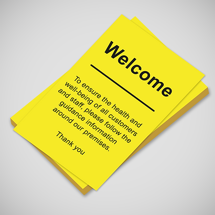 'WELCOME' Poster
