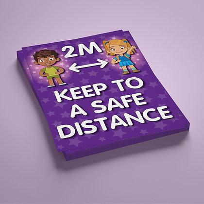 'Keep To A Safe Distance' 2M
