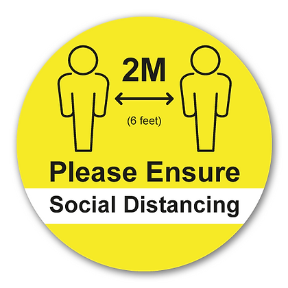 'Please Ensure 2M Social Distancing'