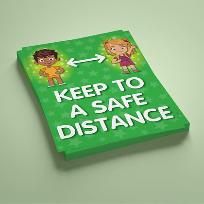 'Keep To A Safe Distance'