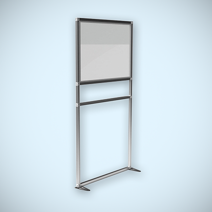 Free Standing Covid Protection Screen