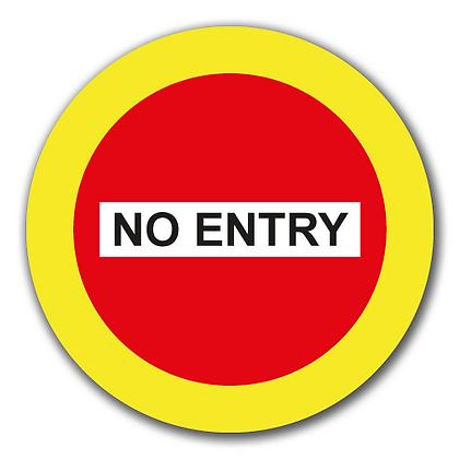 'NO ENTRY'