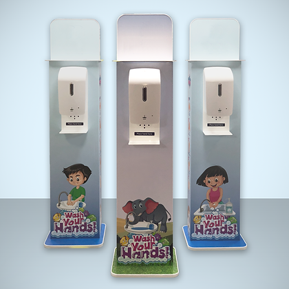 Children's Sanitiser Stand