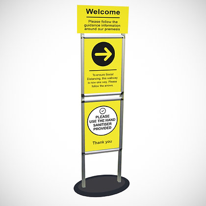 Snap Frame Welcome Stand