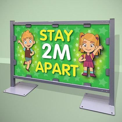 'Stay 2M Apart'