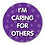 Thumbnail: 40mm Dia Reward Sticker 'Caring for Others'