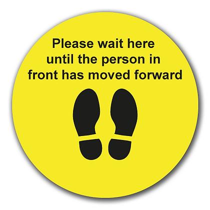'Please Wait Here'