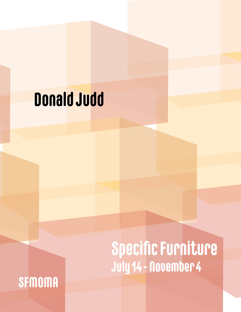 Donald Judd digital ad