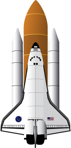Shuttle Emoji