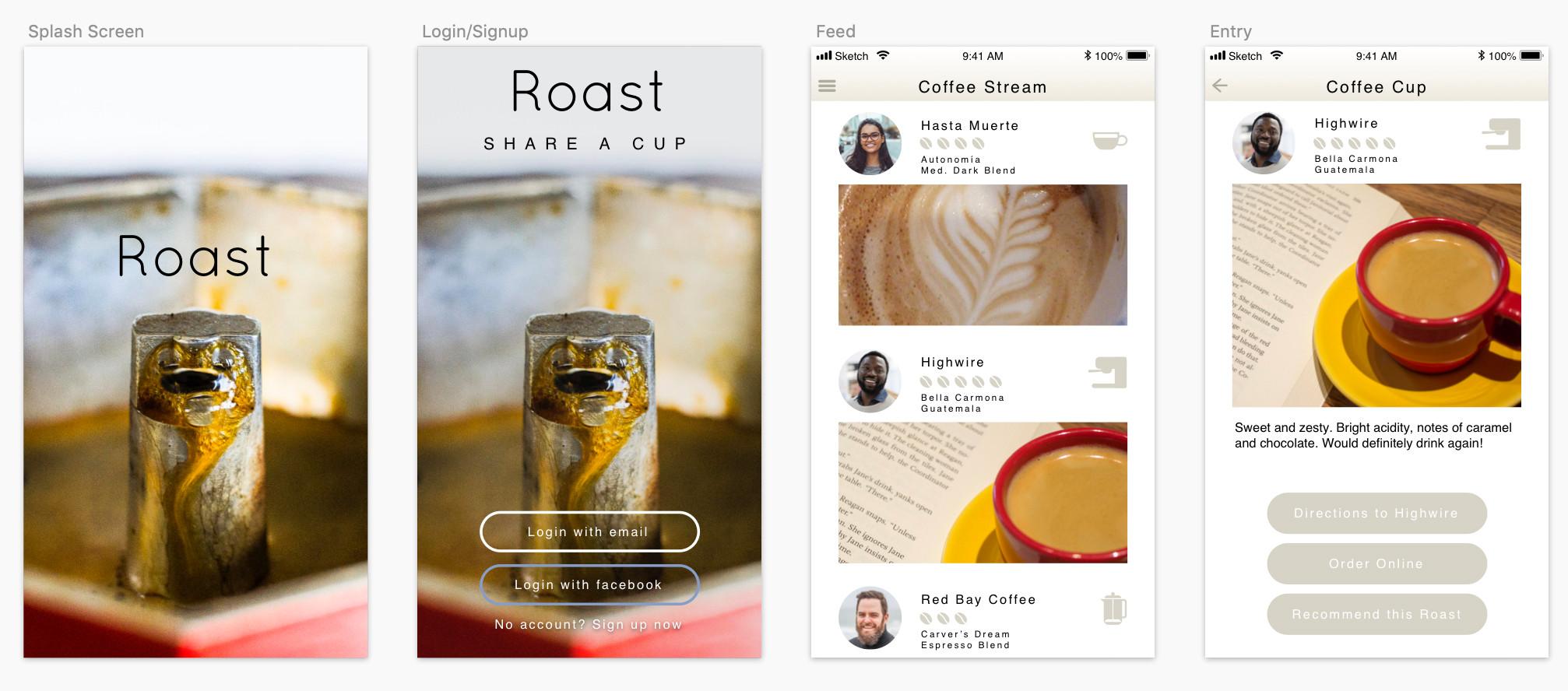 Roast App