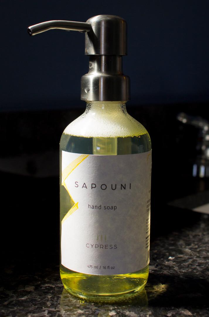 Sapouni Soap Label