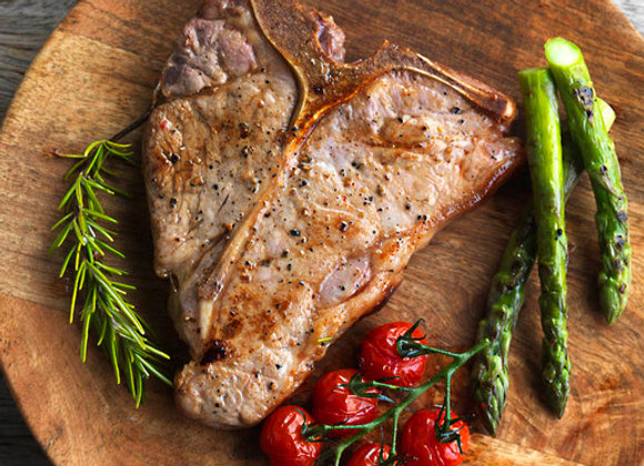English Rose Veal Cutlets